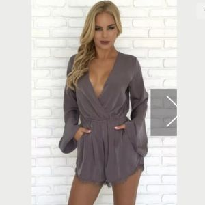 Dainty Hooligan Long Sleeve Romper